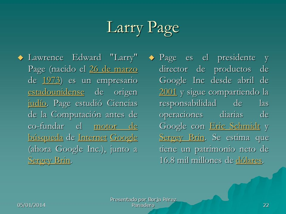 Presentado por Borja Pérez Panadero