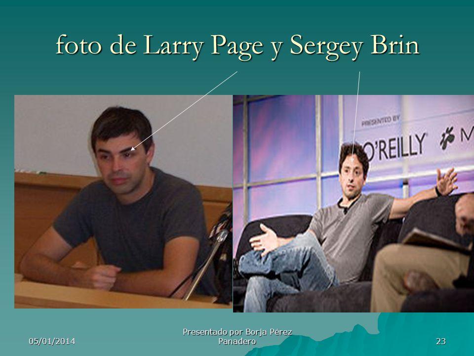 foto de Larry Page y Sergey Brin