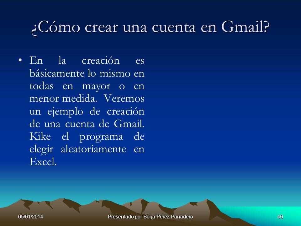 ¿Cómo crear una cuenta en Gmail