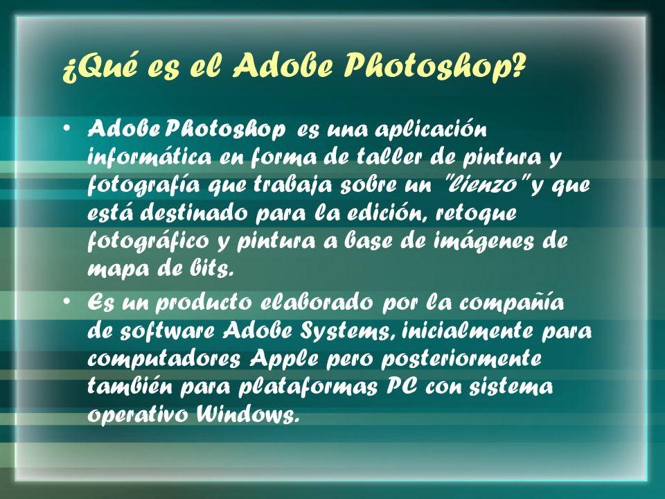 ¿Qué es el Adobe Photoshop