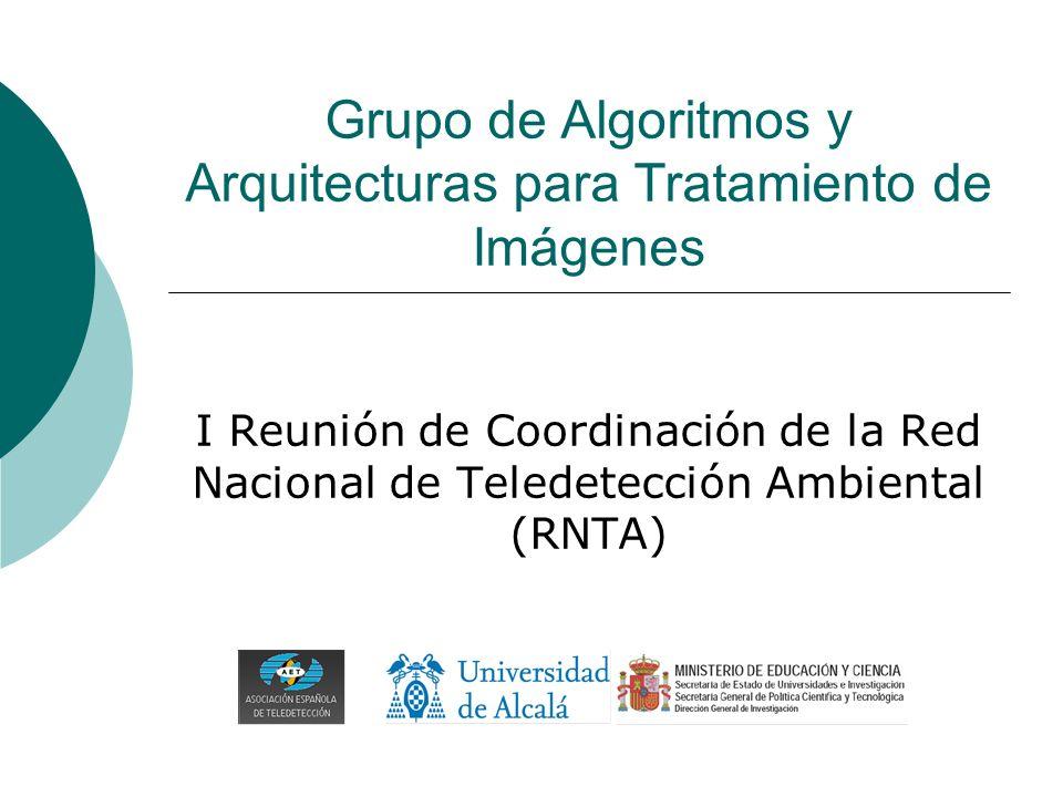 Grupo de Algoritmos y Arquitecturas para Tratamiento de Imágenes