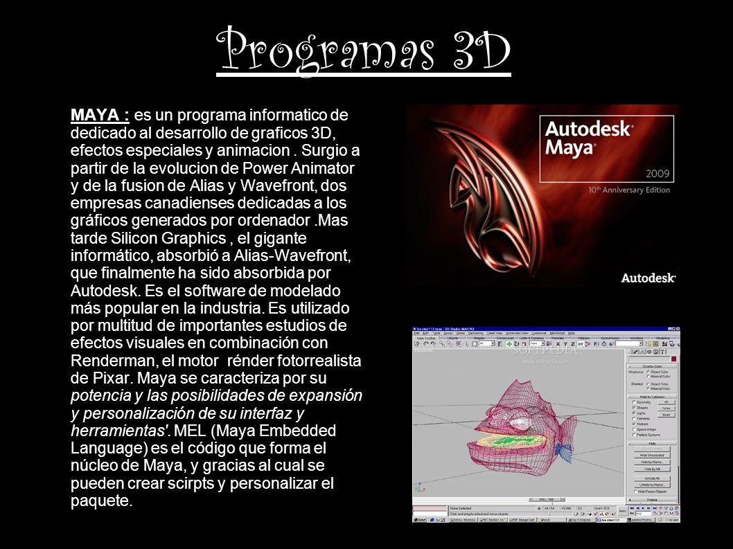 Programas 3D