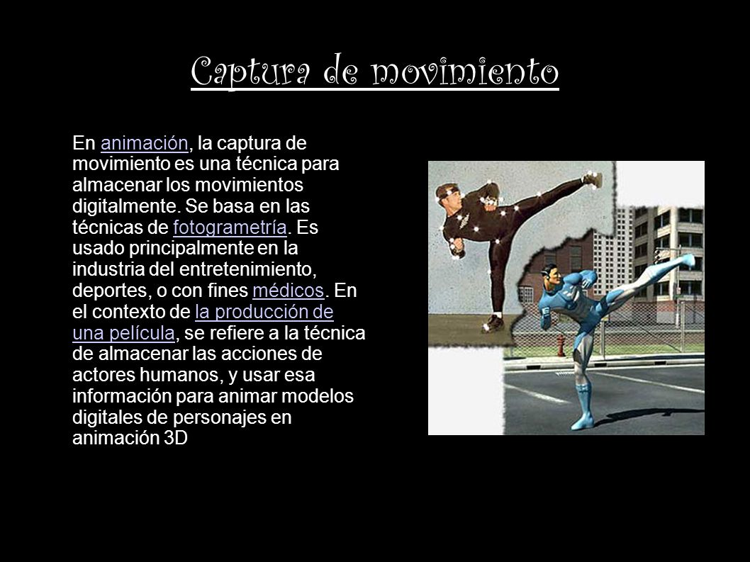 Captura de movimiento