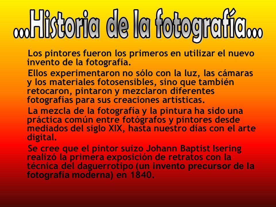 ...Historia de la fotografía...