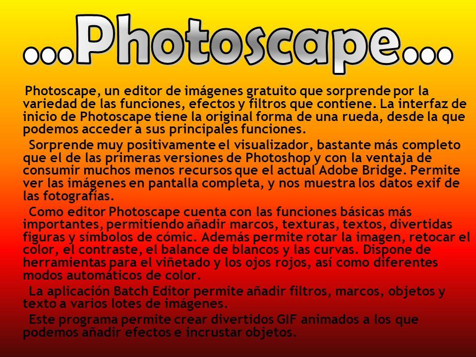 ...Photoscape...