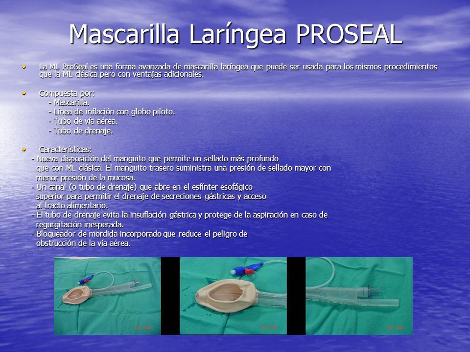 Mascarilla Laríngea PROSEAL