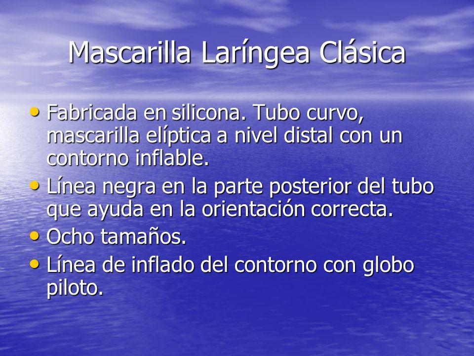 Mascarilla Laríngea Clásica