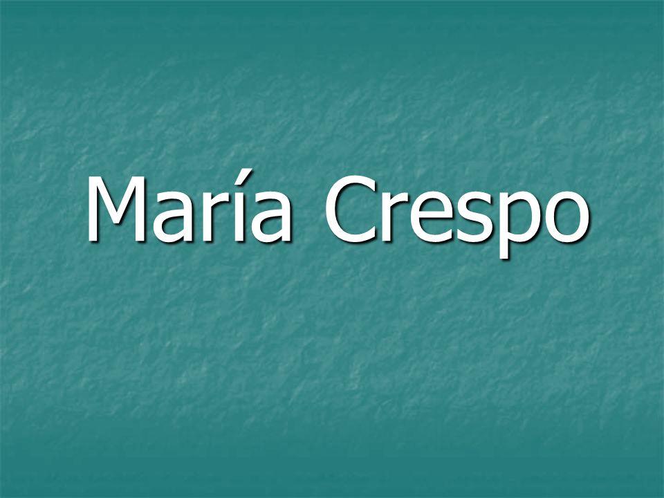 María Crespo