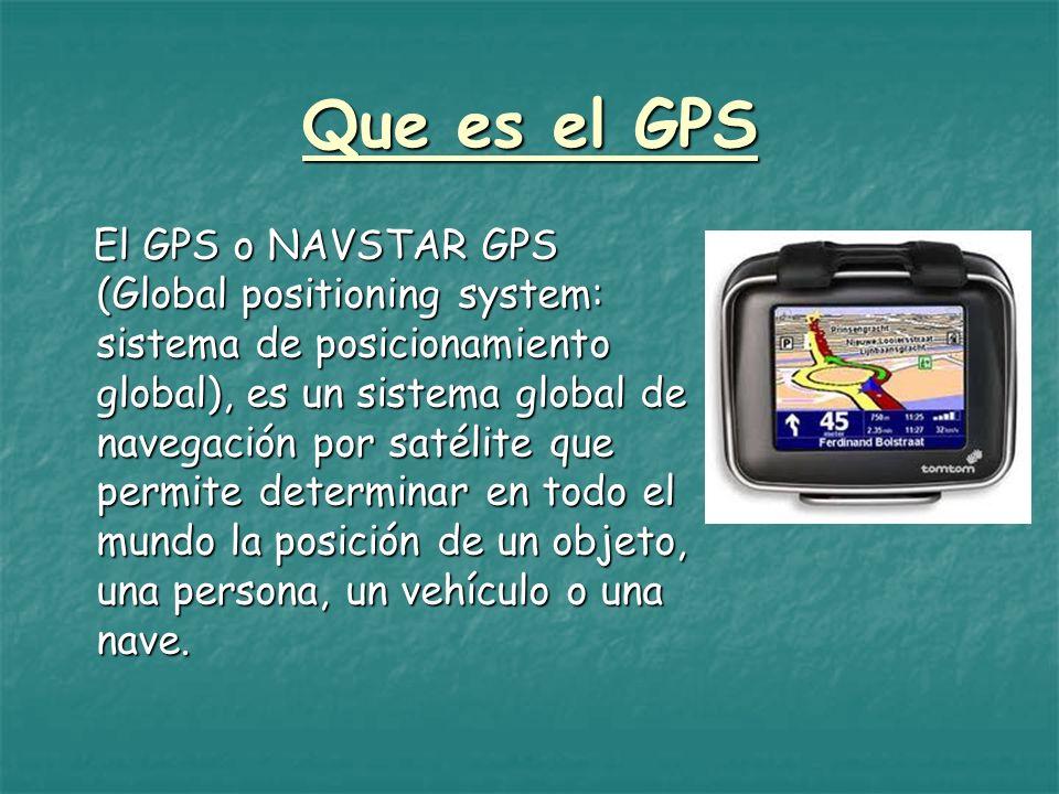 Que es el GPS