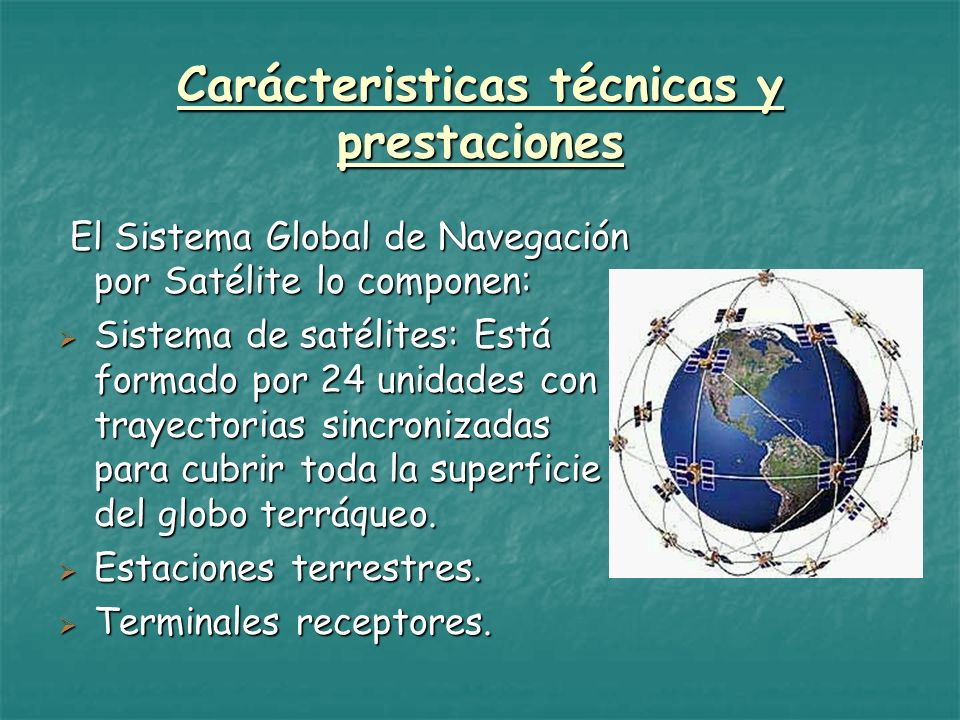 Carácteristicas técnicas y prestaciones