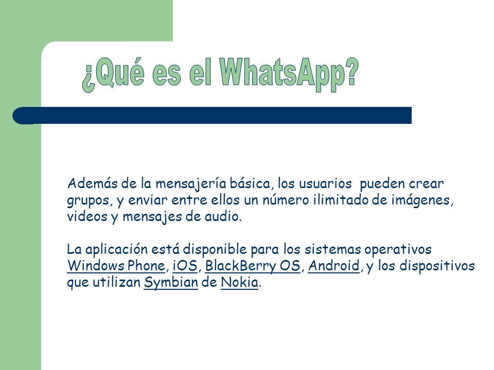 ¿Qué es el WhatsApp