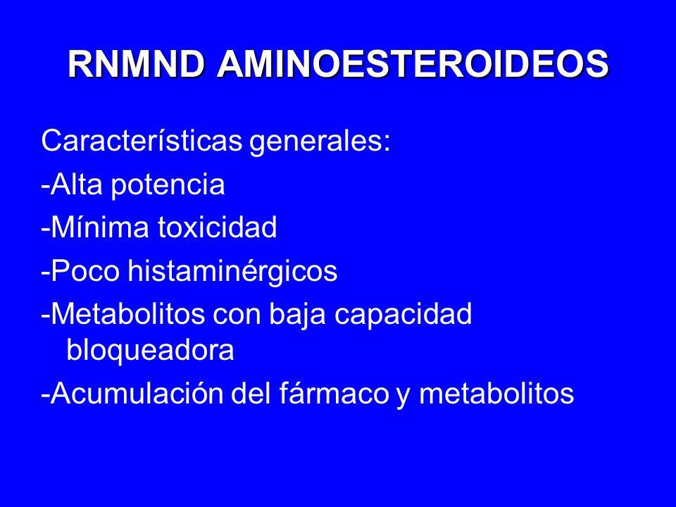 RNMND AMINOESTEROIDEOS