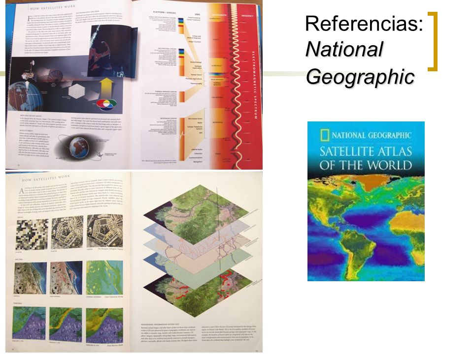 Referencias: National Geographic
