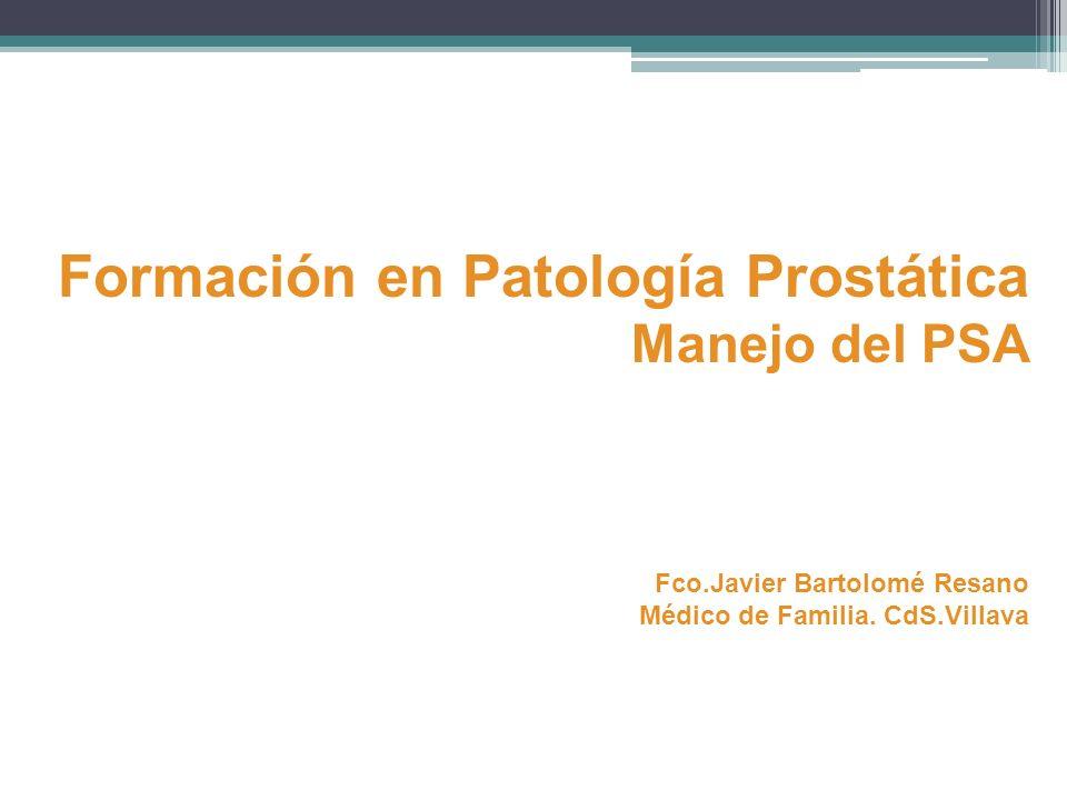 Formación en Patología Prostática