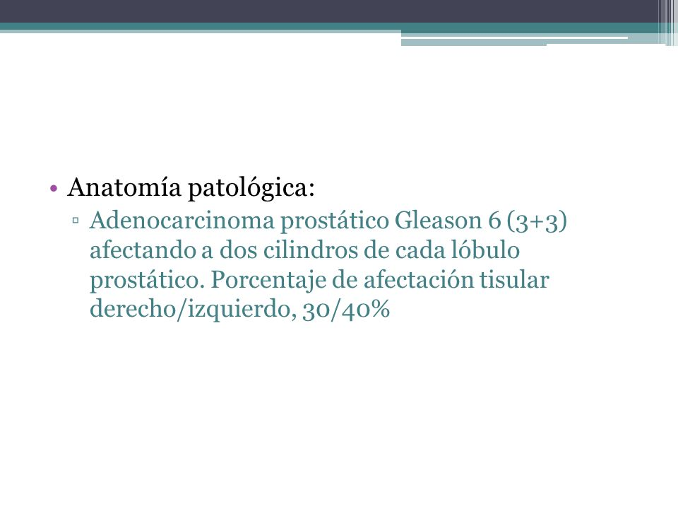 Anatomía patológica: