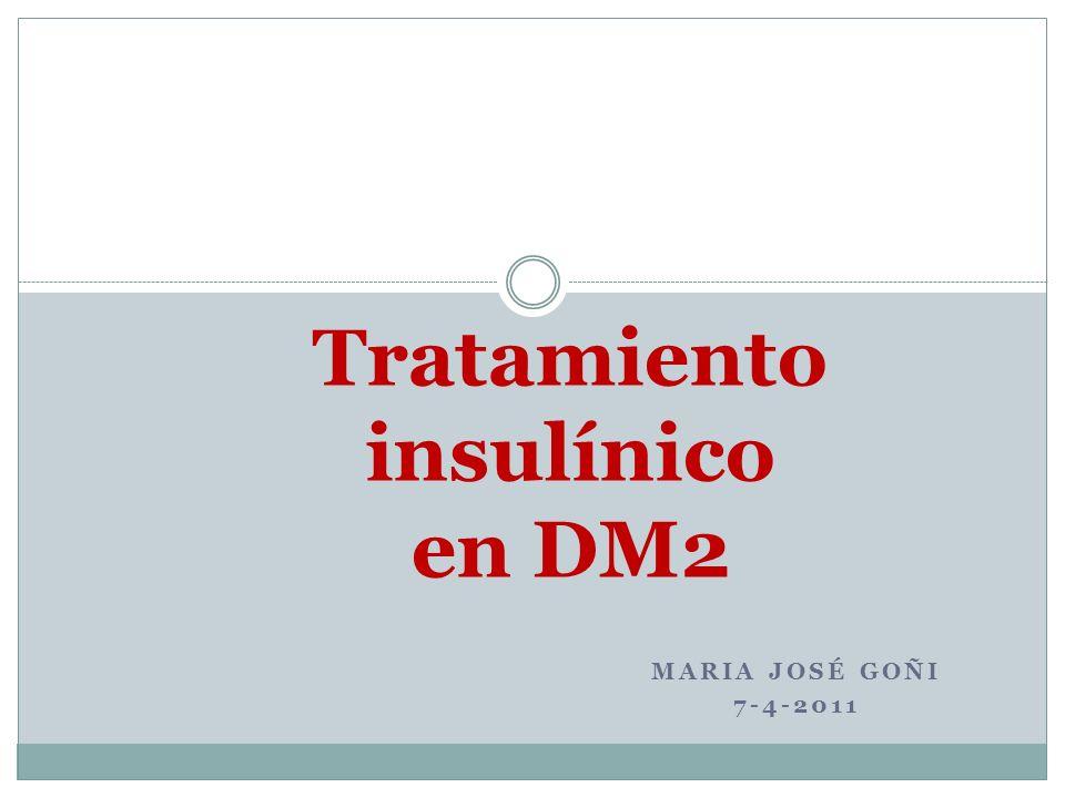 Tratamiento insulínico en DM2
