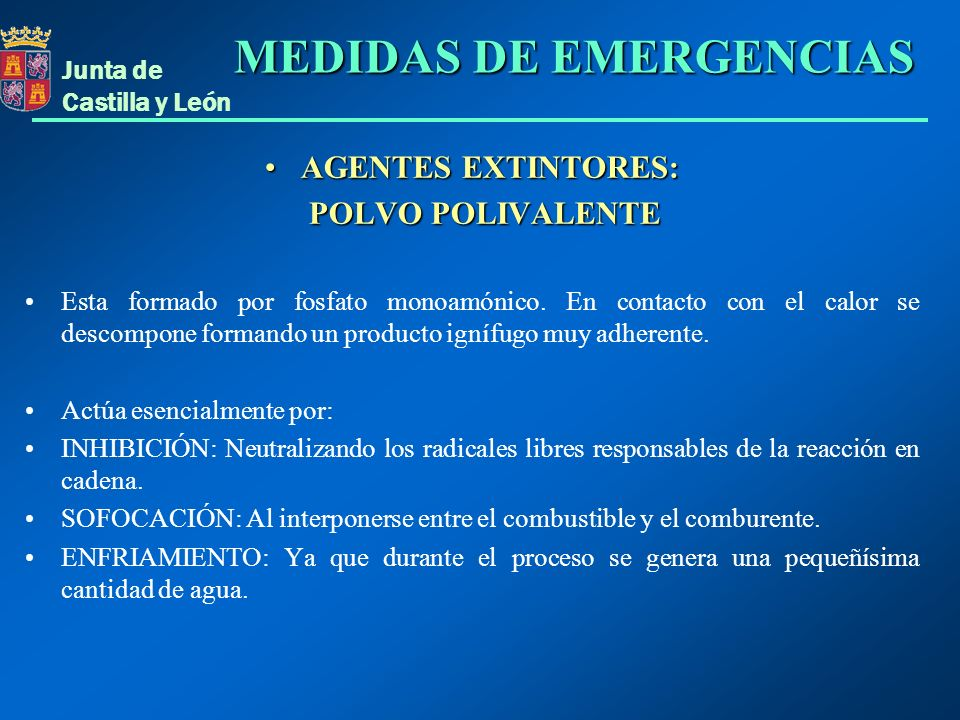 MEDIDAS DE EMERGENCIAS