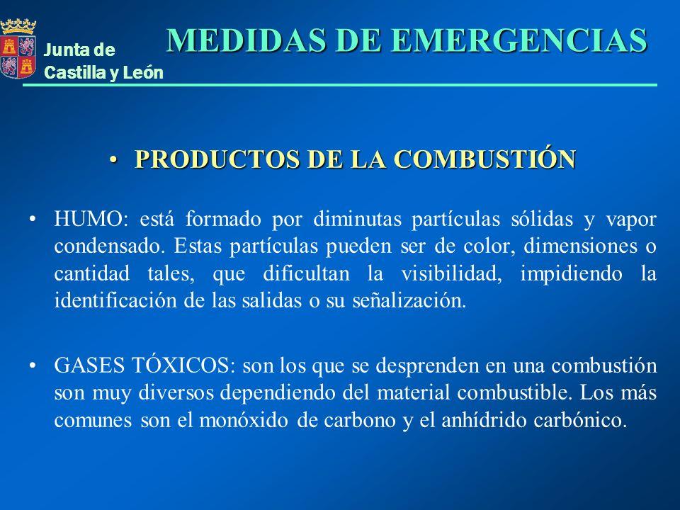 PRODUCTOS DE LA COMBUSTIÓN