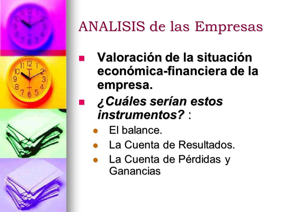 An lisis de las empresas ppt descargar for Analisis de balances