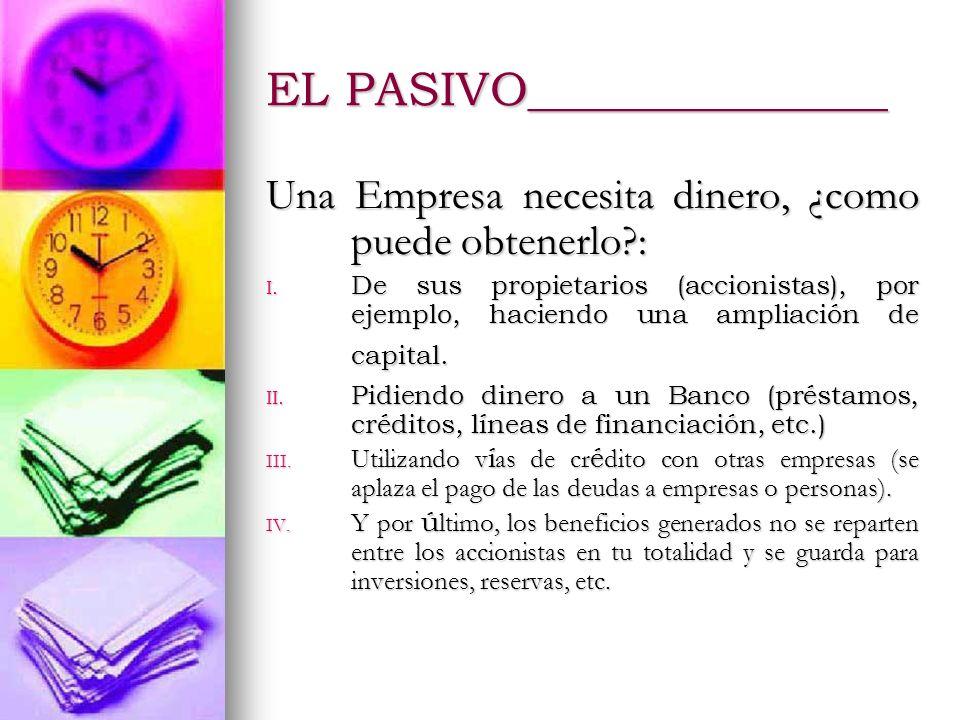 EL PASIVO_______________
