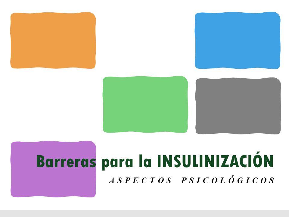 Barreras para la INSULINIZACIÓN