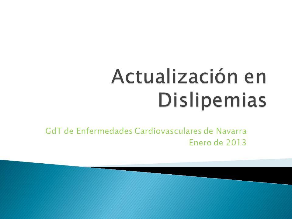 Actualización en Dislipemias