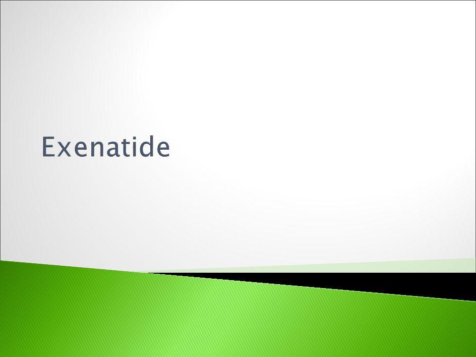 Exenatide