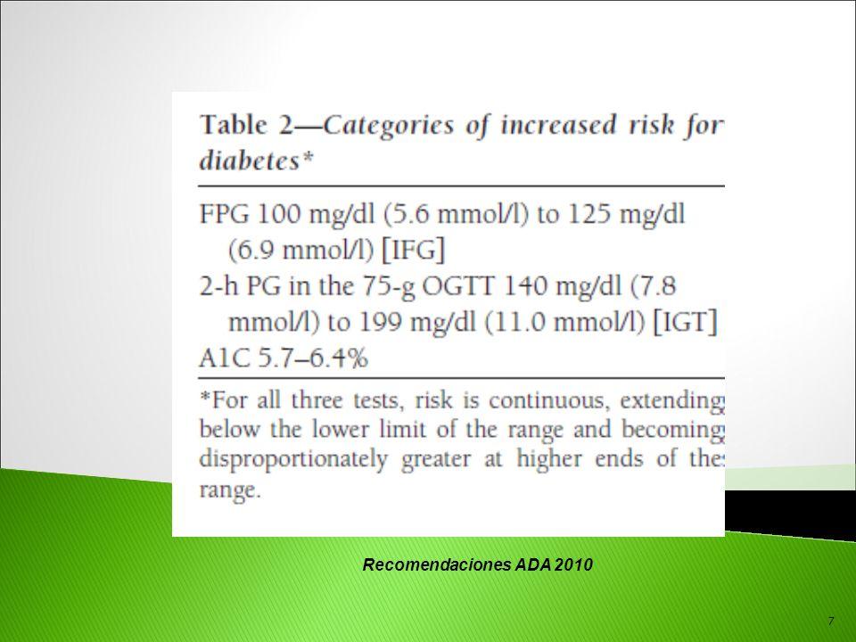 Recomendaciones ADA 2010 7