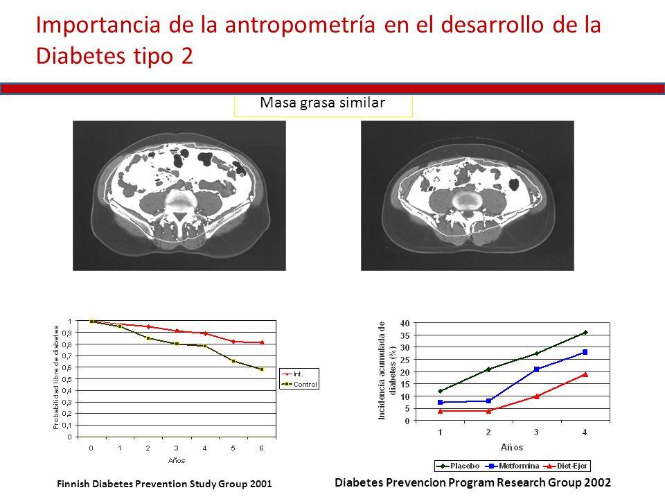 Importancia de la antropometría en el desarrollo de la Diabetes tipo 2