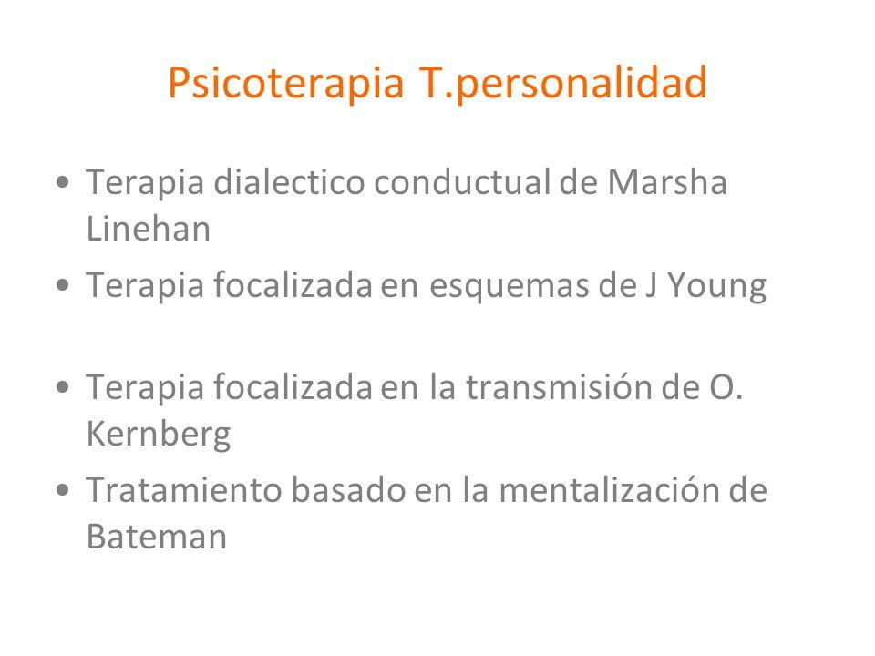 Psicoterapia T.personalidad