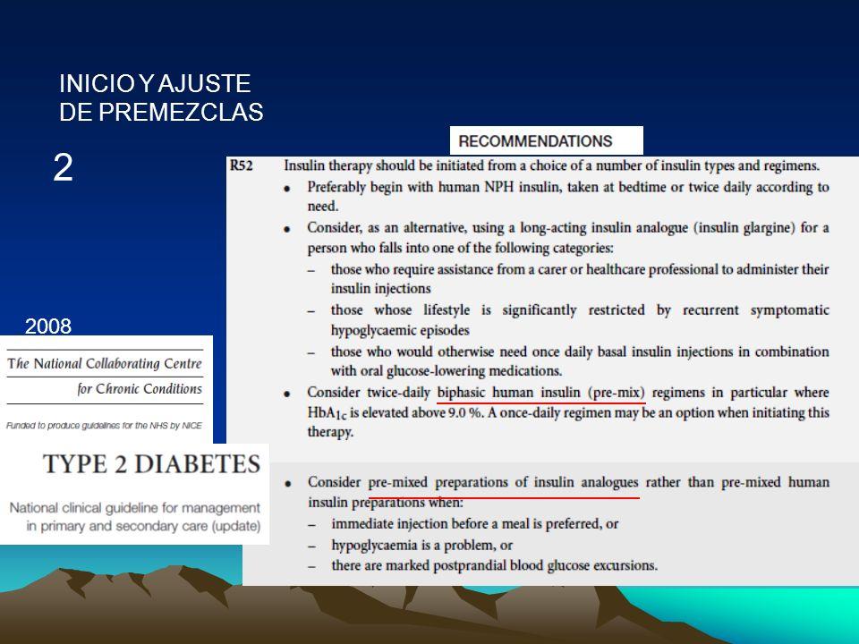 INICIO Y AJUSTE DE PREMEZCLAS