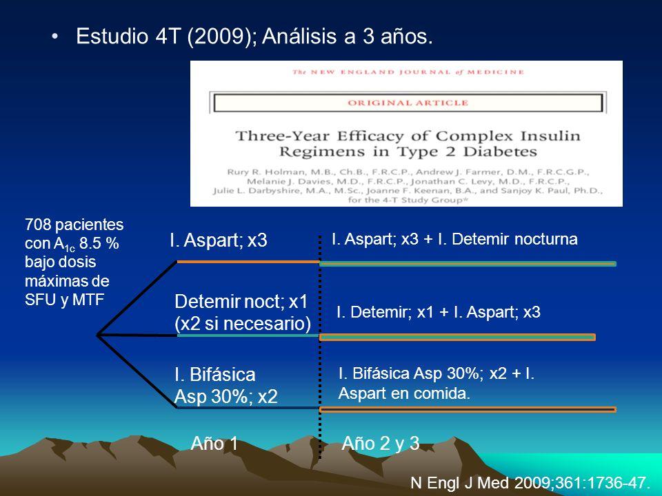 Estudio 4T (2009); Análisis a 3 años.