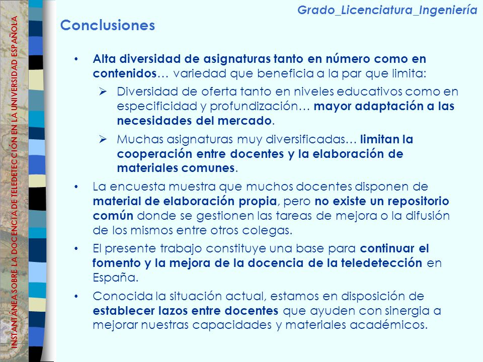 Conclusiones Grado_Licenciatura_Ingeniería