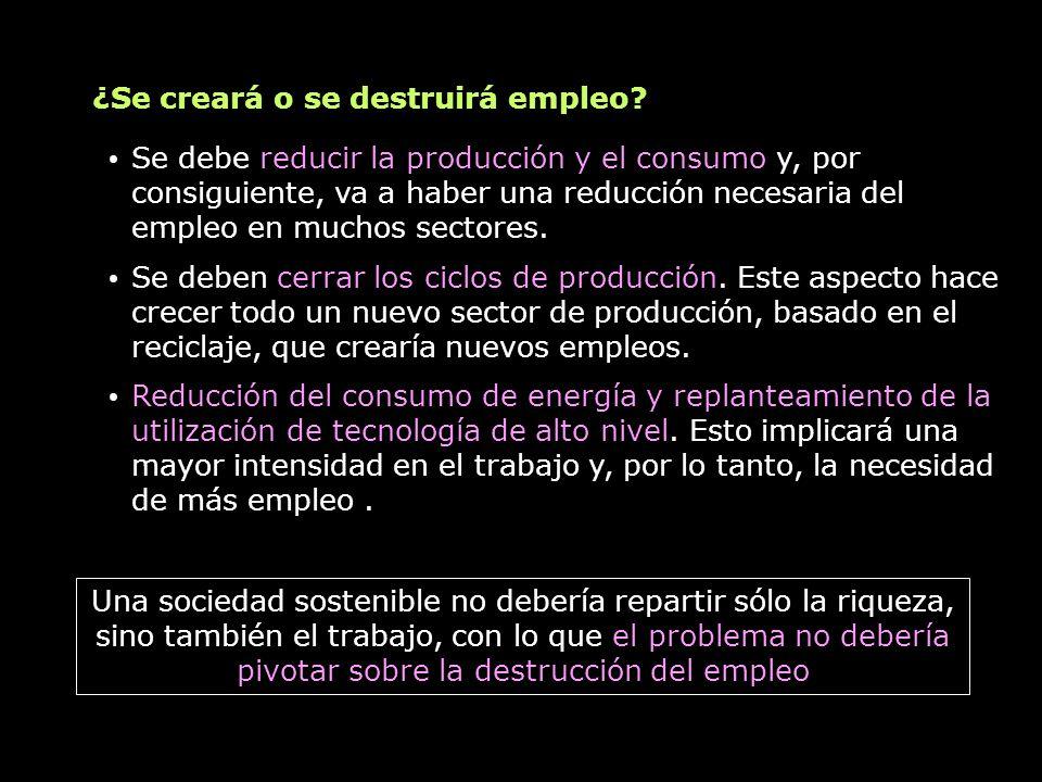 ¿Se creará o se destruirá empleo