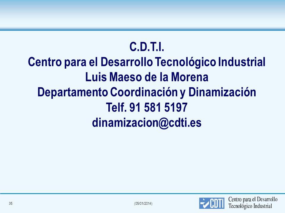 Departamento Coordinación y Dinamización