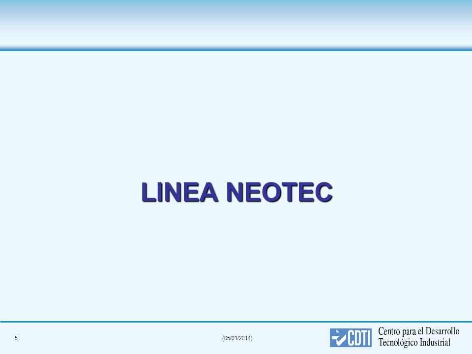 LINEA NEOTEC 5