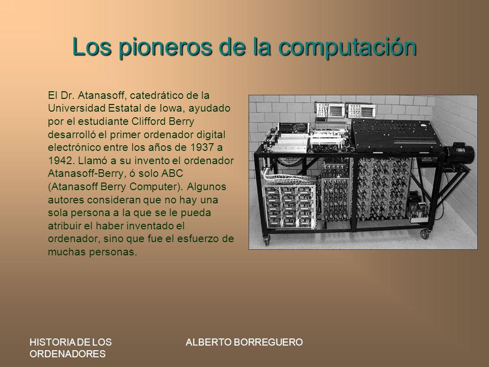 Los pioneros de la computación