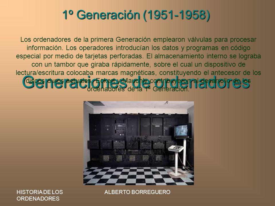 Generaciones de ordenadores
