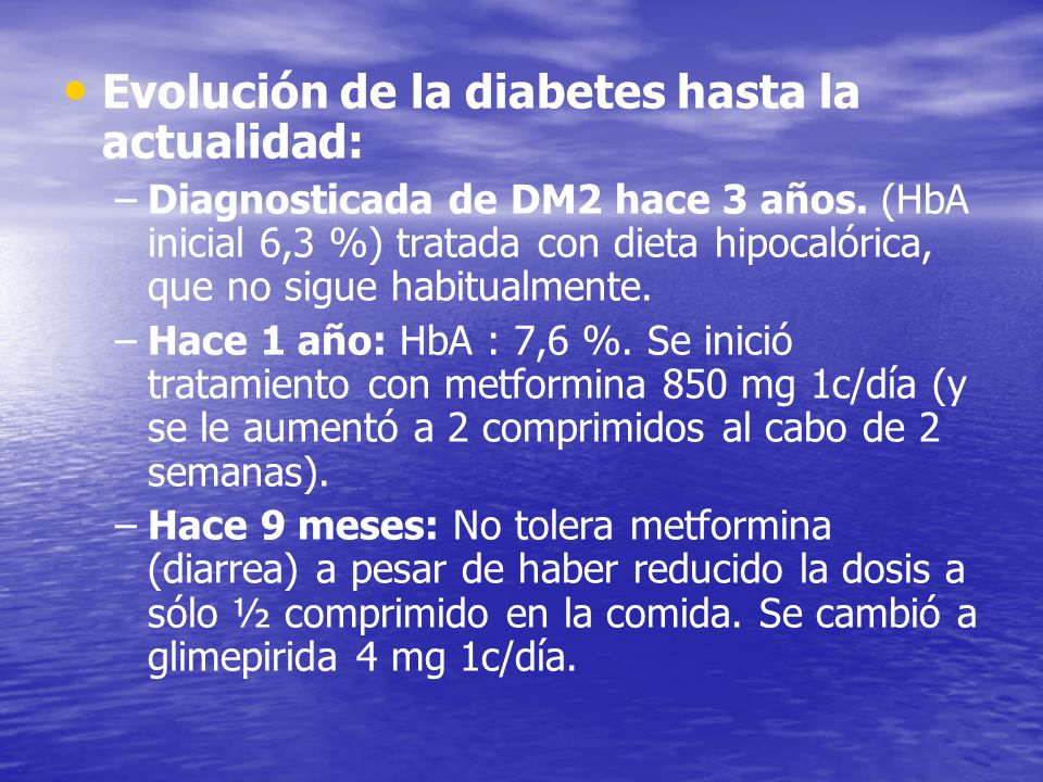 Evolución de la diabetes hasta la actualidad: