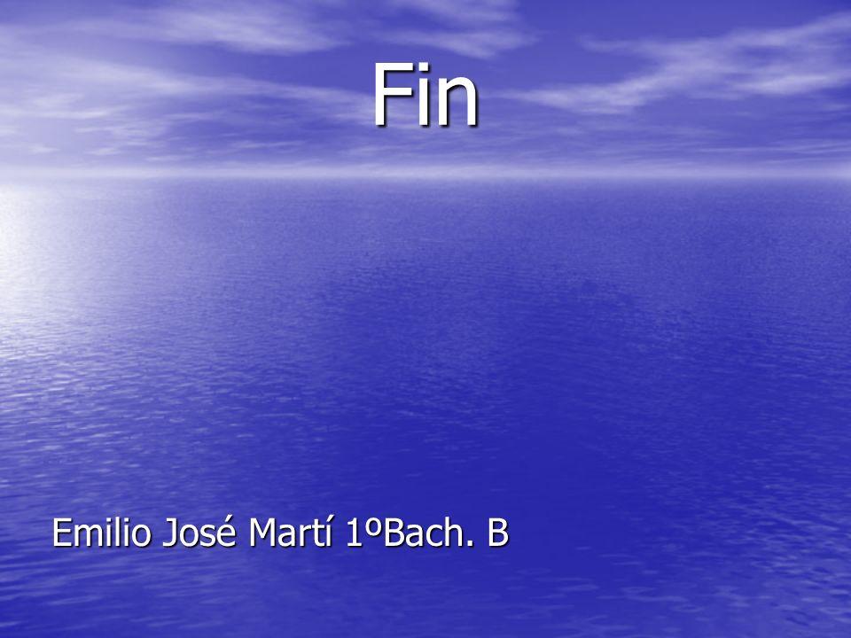 Fin Emilio José Martí 1ºBach. B