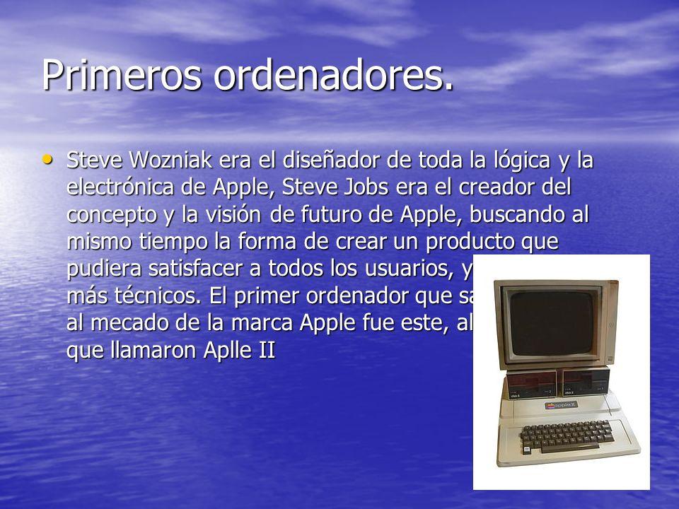 Primeros ordenadores.