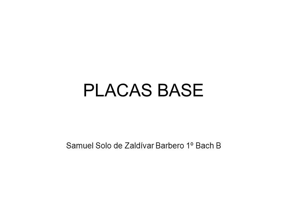 Samuel Solo de Zaldívar Barbero 1º Bach B