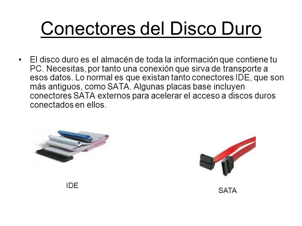 Conectores del Disco Duro