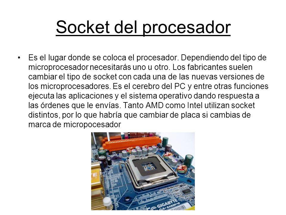 Socket del procesador