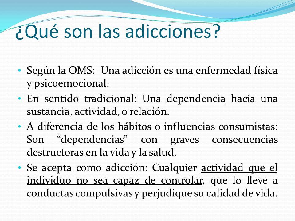 ¿Qué son las adicciones