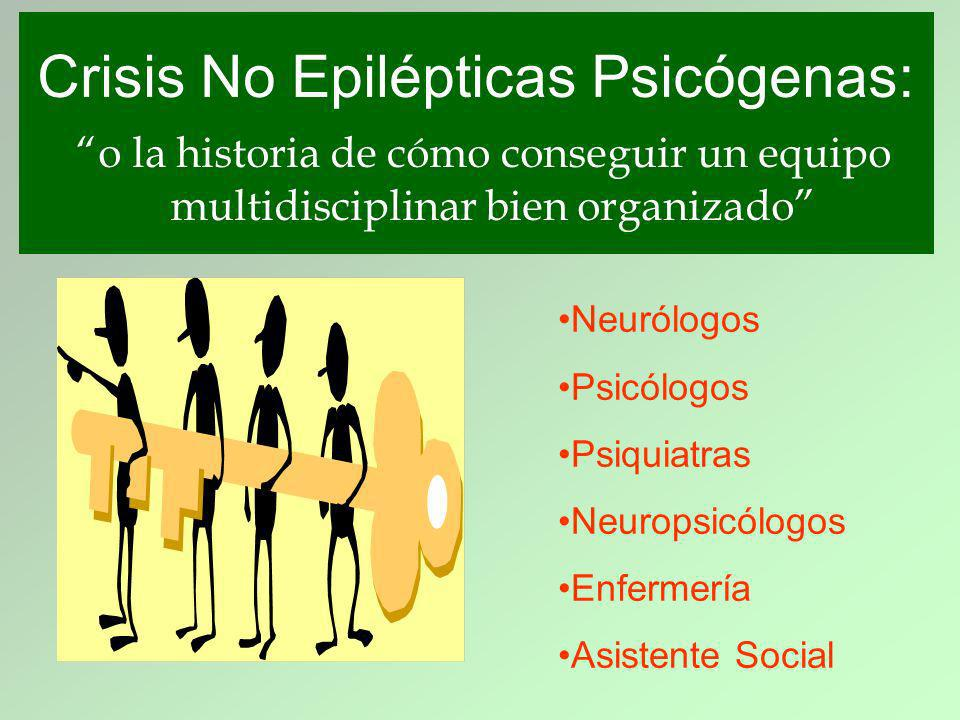 Crisis No Epilépticas Psicógenas: