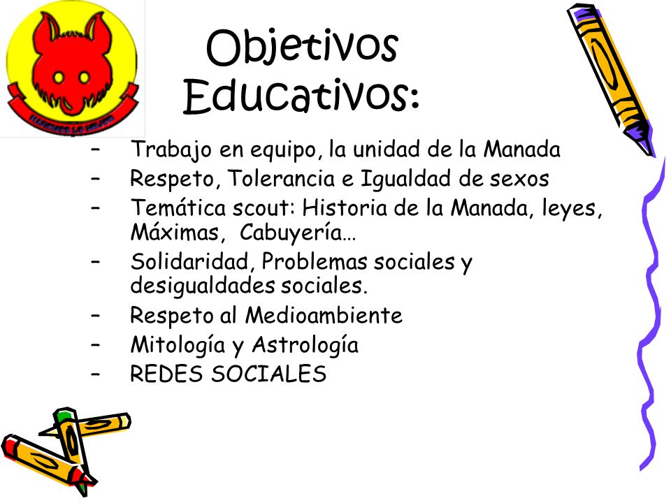 Objetivos Educativos:
