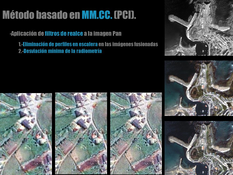 Método basado en MM.CC. (PCI).