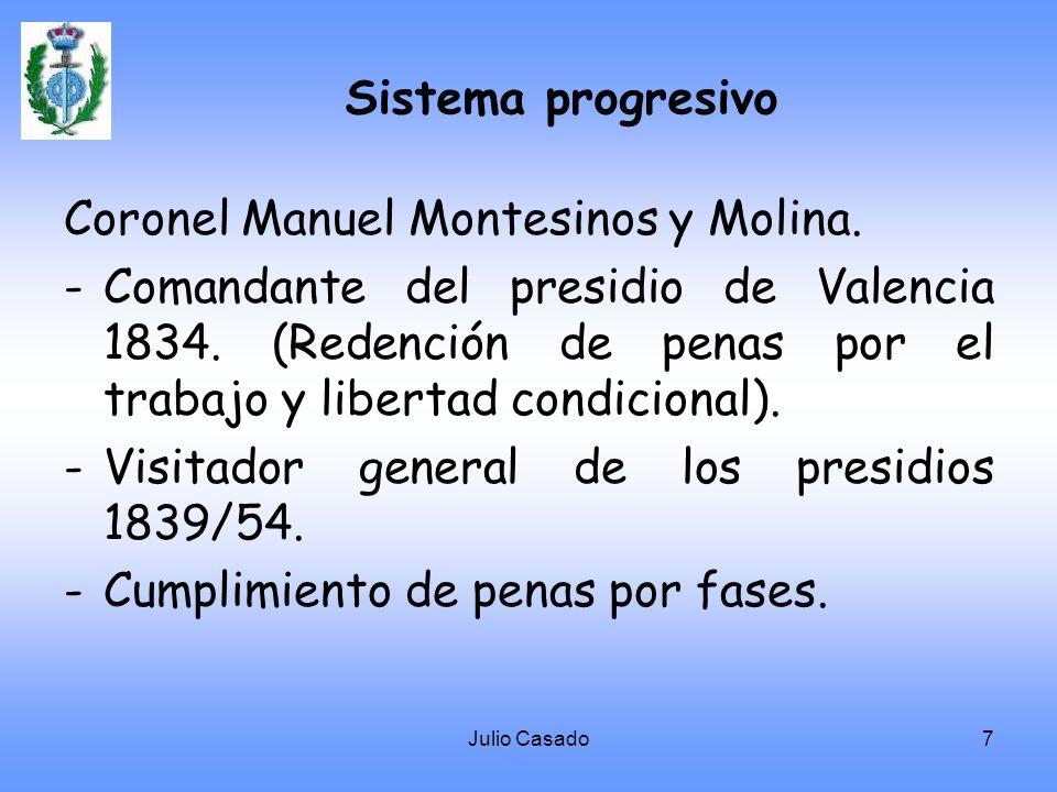 Coronel Manuel Montesinos y Molina.