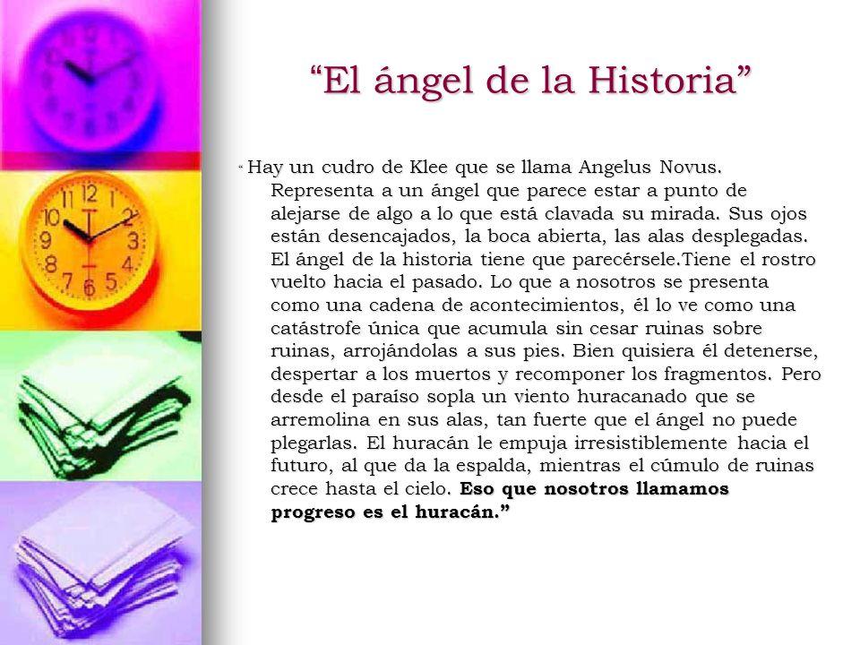 El ángel de la Historia